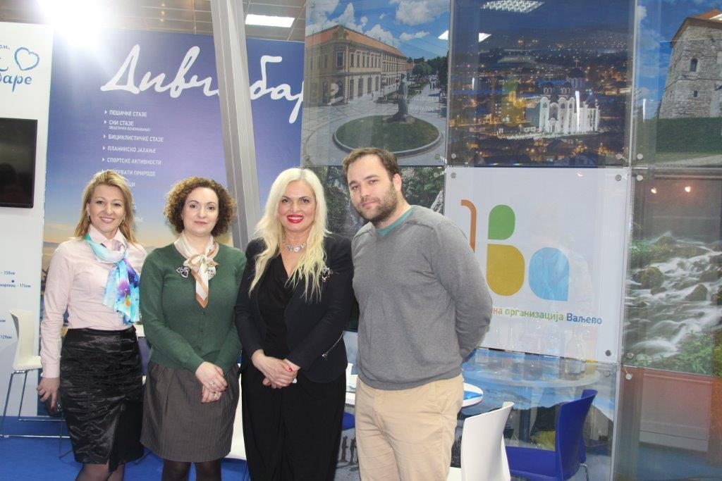 Marija Labovic,direktor tur.org.Srbije,ova u zelenom